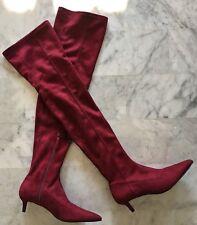 nouveaux produits pour marques reconnues outlet Bottines rouges Zara pour femme | Achetez sur eBay