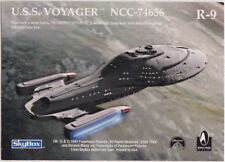 STAR TREK 30 YEARS PHASE 1 GOLD REGISTRY PLAQUE R9 USS VOYAGER NCC-74656