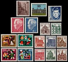 ✔️ BERLIN 1964 - COMPLETE YEAR SET - MI. 231/232 ** MNH OG [DB231Y]