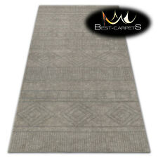 """VERY THICK AMAZING RUGS """"SOFT"""" cream beige HIGH QUALITY best carpets durable"""