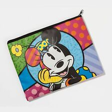 ROMERO BRITTO MINNIE MOUSE COSMETIC BAG OR ACCESSORY  BY DISNEY