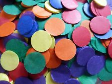 Biodegradable, GAY/PRIDE RAINBOW COLOURS Confetti Circles, Wedding, Celebration.