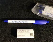 NEW OLD STOCK Pharmaceutical Drug Rep OxyCotin Pens, SET of 5, Sealed pkg