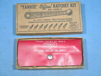 Vintage Stanley YANKEE Offset Ratchet Kit No. 3600-9 Complete in Box w/9 Tips