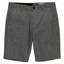 "Volcom ""Frickin"" Modern Stretch Chino Shorts (Charcoal Heather) size 32"