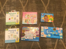 Puzzle Game Bundle Phonics Alphabet Kids Educational Toys Counting Pre-school
