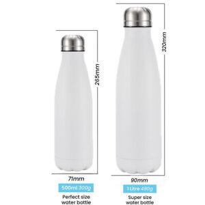 Stainless Steel Water Bottles Insulated Metal 500ml 1 Liter Vacuum Flasks Bottle