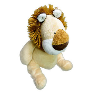 Korimco Lion Washed and Clean Sitting Plush Soft Stuffed Toy 20cm