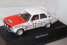 miniature 1/43 Opel Ascona Greder Racing Schuco