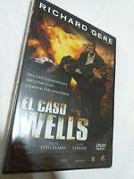 Dvd EL CASO WELLS    (NUEVO PRECINTADO) richard gere