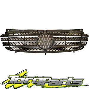 GRILLE SUIT W639 VITO MERCEDES BENZ 04-10 VIANO BLACK FRONT GRILL