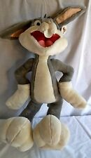 """BUGS BUNNY 25""""-30"""" Plush Rare SixFlags Looney Tunes Warner Bros licensed toy"""