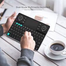RII K16 Dual-mode Bluetooth RF Wireless Backlit Keyboard for PC Tablets Smart TV