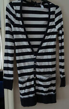 PRIMARK NAUTICAL NAVY STRIPE CARDIGAN SZE 8 RRP £29 BNWT