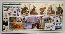 GB 1977.A4 SHEET BRITISH WILD LIFE MINT NH.LINE OF 5.& A COVER MINT ST  (54)