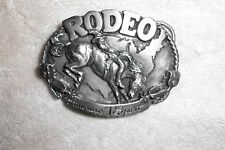 RODEO America's #1 Sport Belt Buckle Siskiyou Buckle Co. 1983