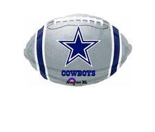"Dallas Cowboys Football 18"" Balloon Birthday Party Decorations"