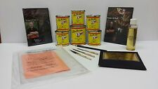 Steve Kafka Pinstriping kit ADVANCED paint brush DVD