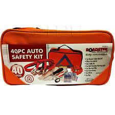 40PC EMERGENCY BREAKDOWN ROAD SAFETY KIT VEHICLE CAR VAN CARAVAN EURO WARNING