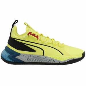 Puma Uproar Spectra   Mens Basketball Sneakers Shoes Casual   - Yellow