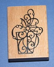 Stampendous 'Holly Gift' Christmas Rubber Stamp