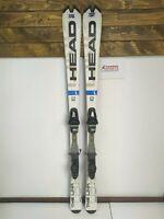 HEAD The Link R 163 cm Ski + Fischer FS12 Bindings Winter Sport Outdoor Fun