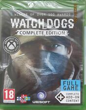 Watch Dogs Complete Edition For XBOX One (New & Sealed English / Nordic Edition)