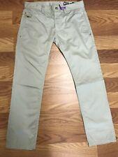 Mens DIESEL Industry CHI DEE Slim Fit Tag Size 32 ( 34 X 29 ) Tan EUC Drywashed