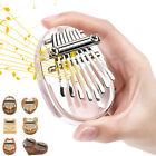 Mini Kalimba 8 Keys Thumb Piano Finger Keyboard Musical Instrument Xmas Gift