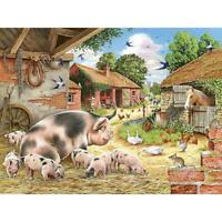 5D DIY Full Drill Diamond Painting Village Farm Cross Stitch Embroidery Kit