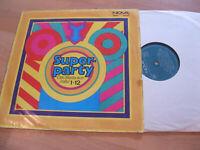 LP Various Superparty Das Beste aus Hallo 1-12 Vinyl NOVA DDR 8 85 052