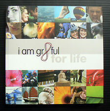 I AM GRATEFUL FOR LIFE inspirational gift book motivational quotes Gr8ful Kim