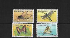 ZIMBABWE SG904/7, 1995 INSECTS MNH