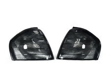 Euro Smoke Corner Signal Light Pair For 1994-2000 Mercedes Benz C Class W202