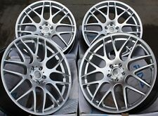 "ALLOY WHEELS X 4 19"" SILVER RIVA DTM FITS BMW M3 Z3 M Z4 M GTS COUPE CABRIO CSL"