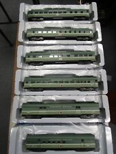 ATHEARN-ROUNDHOUSE 82873-78 HO NORTHERN PACIFIC 6 CAR STREAMLINE PASSENGER SET
