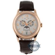 Patek Philippe Calendario Anual LE Auto 39 mm Oro Rosa Reloj De Hombre Luna