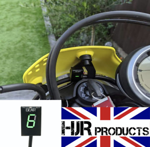 Ducati Scrambler / Monster Gear Indicator 800 400 Sixty2 Genuine HJR Products