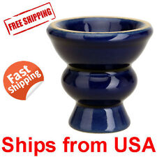 BLUE Hookah Shisha Narguile Shisha Ceramic Bowl Head for Hookah Pipe Smoking