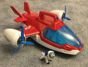 PAW PATROL AIR PATROLLER PLANE HELICOPTER WITH LIGHTS & SOUND & ROBODOG FIGURE