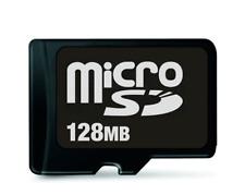 Genuine 128MB Micro SD TF Memory Card For Nokia Samsung Sony LG HTC BlackBerry