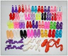 Lot Barbie dress / clothes /accessories - 40 Pairs Shoes