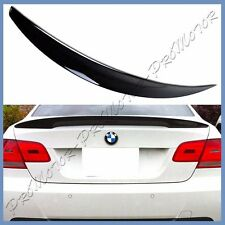 Painted #668 Jet Black BMW 07-13 E92 328i M3 High Kick P Type Trunk Tail Spoiler