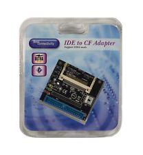 44P/40P Dual Ultra IDE connectors Compact Flash Adapter