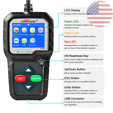 OBD2 Automative Code Reader Scanner Check Engine Live data Scan Tool KW680 US