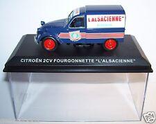 IXO ALTAYA CITROEN 2CV FOURGONNETTE L'ALSACIENNE 1/43 in BOX