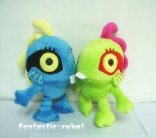 2x Blizzard World of Warcraft Murloc Plush Dolls Stuffed 1x green & 1x blue Toy