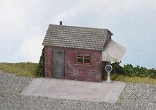 Wills SS16 - Gleiswaage & Hütte 1/76 Maßstab = Nenngröße 00 Plastik