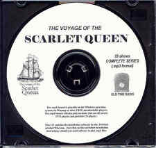 VOYAGE OF THE SCARLET QUEEN - 33 Shows Old Time Radio In MP3 Format OTR On 1 CD