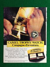 PX28 Pubblicità Advertising Werbung Clipping 26x21 cm - CAMEL TROPHY WATCH